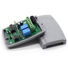 ROGER Garage Door Receiver 433MHZ DC12V 24V Remote Control Receiver Switch for ROGER Gate Remote Control
