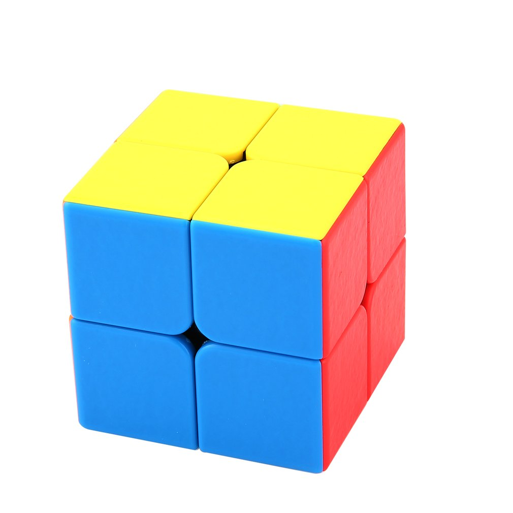 Classic Toys 2x2x2 5CM Speed For colorful Magic Cube Puzzle Cubo Magico Sticker For Children Education Toy