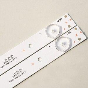 Image 2 - 3 Pièces/ensemble Original Nouveau LED bande de rétro éclairage pour skyworth 5800 W32001 3P00 05 20024A 04A pour LC320DXJ SFA2 32HX4003 7LED 605mm