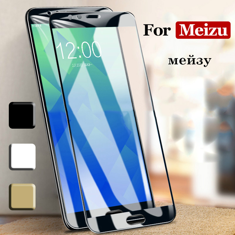 Tempered-Glass Screen-Protector Note Meilan 15-Lite M8C Meizu Plus for 16x16/Plus/15-lite/..