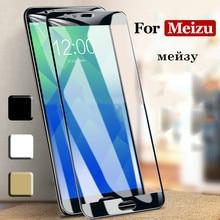 Полное покрытие из закаленного стекла для Meizu 16X16 Plus 15 Lite M8C M5C Pro 7 Plus M6 M5 M3 Note Meilan S6 Note 6 5 3 Защита экрана
