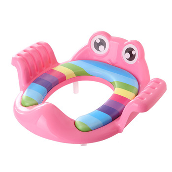 Potty Training Seat for Baby Kids Toddlers Toilet Potty Training Seat with Detachable Soft Cushion for boys and girls 1