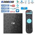 2021 ТВ-приставка Android 10,0 T9 RK3318 Четырехъядерный 4 Гб RAM 64 Гб ROM USB 3,0 4K телеприставка 2,4G/5G WIFI 2G16G ТВ-Приставка Смарт-медиаплеер
