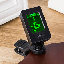 Mini Clip-On Guitar Tuner Automatic Digital Tone for Acoustic Electric Bass Chromatic Violin Ukulele