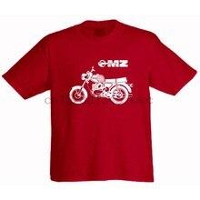 T-Shirt homme TS 250 MZ Motorrad Zschopau TS 250 1 ETZ ES trophée ETS BK RT 125 150, nouvelle mode, marque, vêtements de haute qualité