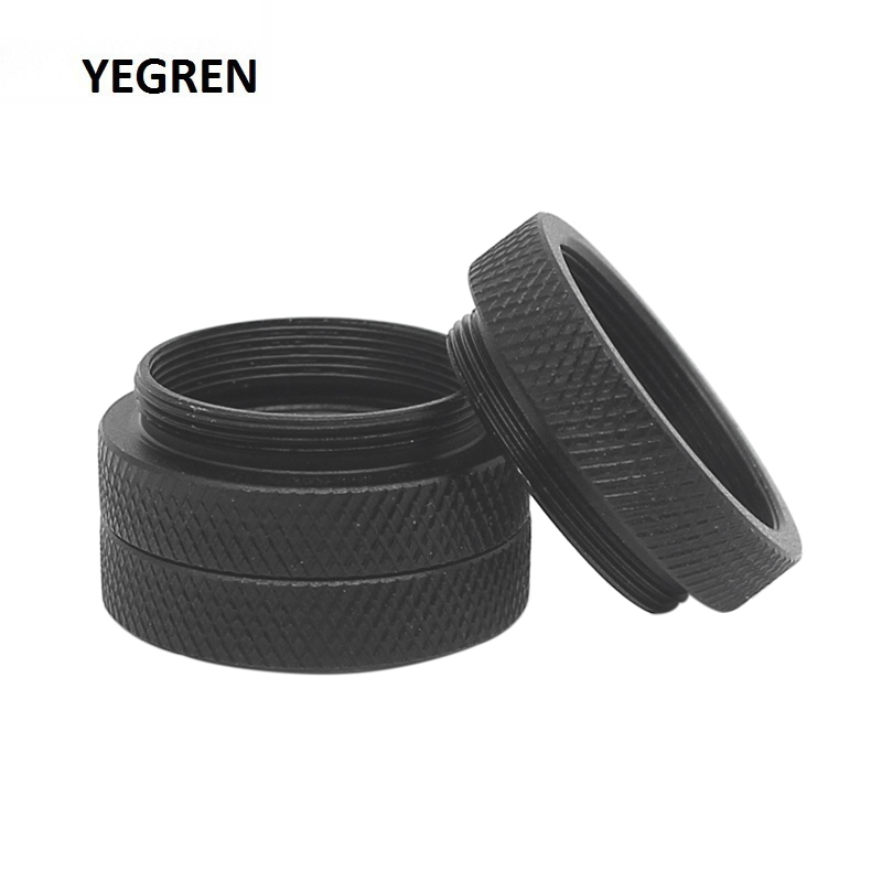 6.5 Mm Microscope Objective Lens Adapter Ring Mounting Thread M25 To M25 Objective Parfocal Length Extension Ring Adapter