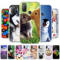 Funda de silicona suave para teléfono móvil, carcasa de lujo con estampado Animal para Alctel 1 S 3L 2021, TPU, 2021