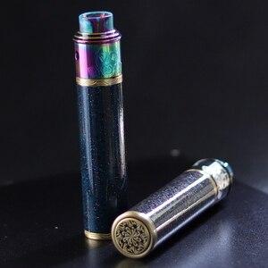 Image 2 - מקורי VapSea יואן 24mm קוטר 18650 mod ערכת סוללה מכאני mod עבור vape mod 18650 סיגריה אלקטרונית mech mod ערכת