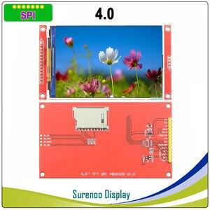 Image 2 - 4,0 дюймовый 480*320 MCU SPI серийный TFT ЖК модуль экран с сенсорной панелью со встроенным драйвером ST7796S