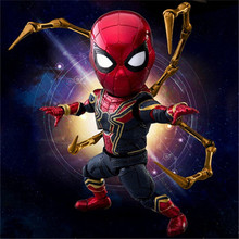 Iron Spider-Man Statue Anime Spiderman PVC Action Figure Collectible Model Superhero Toy Doll 2018 marvel amazing ultimate spiderman captain america iron man pvc action figure collectible model toy for kids children s toys