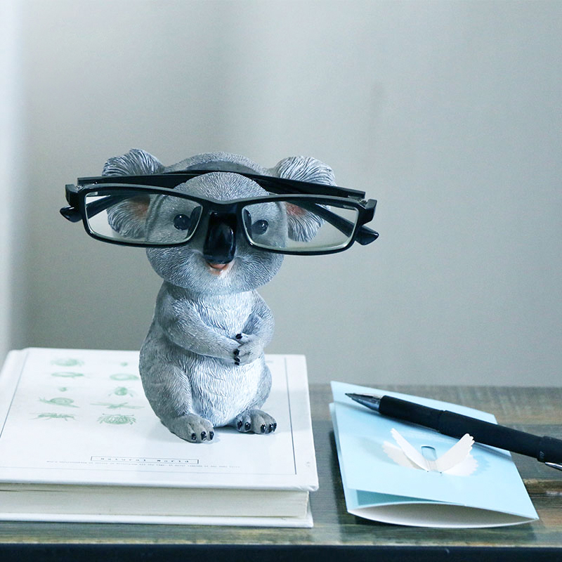 Container Sunglasses-Holder Figurines Statues Pencil Desktop Animal Home-Decor Resin title=