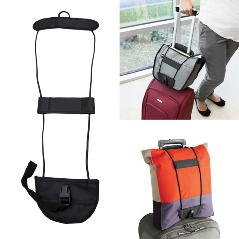 Luggage Belt Add Bag Suitcase Easy Carry On Bungee Strap Adjustable for Travel FI-19ING