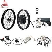 QS мотор 205 50H V3 электрический высокомощный комплект для велосипеда/комплект для электровелосипеда/спиц 3000 Вт Мощный комплект для мотора с TFT ...