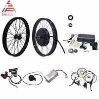 QS Motor 205 50H V3 Elektrische high power fahrrad kit/E bike kit/speichen 3000W Leistungsstarke hub Motor Kit mit TFT H6 tacho