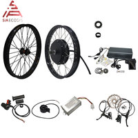 QS Motor 205 50H V3 Electric high power bicycle kit / E bike kit / spoke 3000W Powerful Hub Motor Kit with TFT H6 speedometer