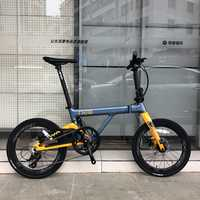 "JAVA NEO Carbon Folding Bike 20"" 406 Wheel 9 Speed Disc Brake Foldable Uniex High Quality Adult Urban City Bicycle Mini Velo"