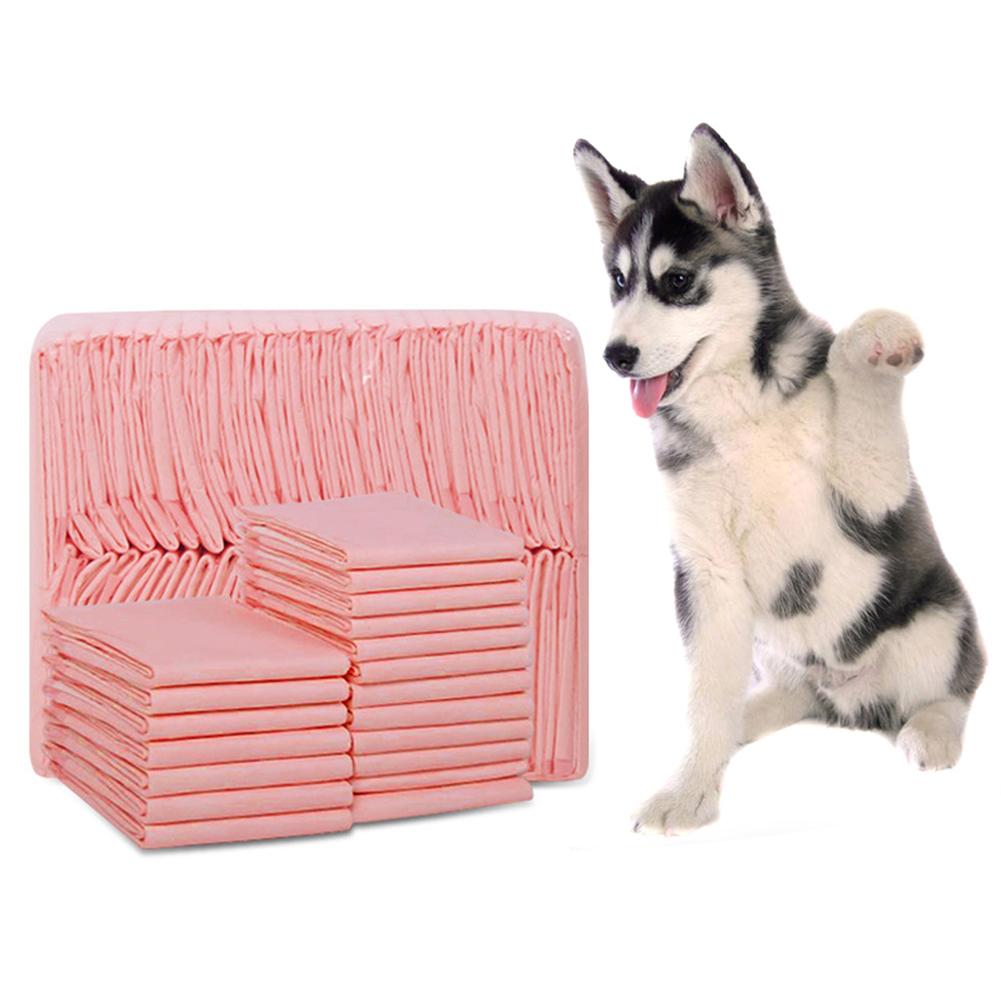 20 to 100Pcs Super Absorbent and Deodorized Puppy Toilet Pads for Dogs Potty Training 8