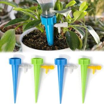 Auto Drip Spike roślin podlewanie ogrodu System nawadniania dripper kit nasiona kwiatów butelka podlewanie zraszacz praktyczne narzędzia stożek