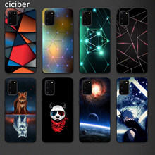 Panda Phone Case for Samsung A50 A40 A70 A51 A71 A20 A20E S10 S20 S9 S8 S7 Edge Ultra Puls Note 10 9 8 Plus Cases Matte Soft TPU(China)