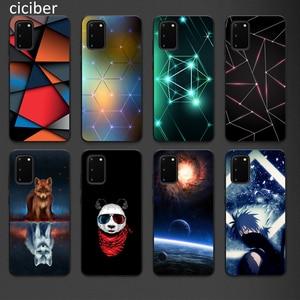 Panda Phone Case for Samsung A50 A40 A70 A51 A71 A20 A20E S10 S20 S9 S8 S7 Edge Ultra Puls Note 10 9 8 Plus Cases Matte Soft TPU