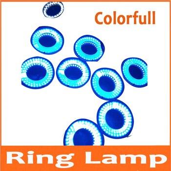 96pcs Biological Microscope adjustable LED ring light source diameter 50MM microscope LED lamp industrial visual light source