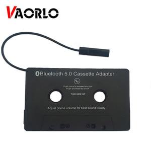 Универсальный адаптер VAORLO для кассеты Bluetooth 5,0, преобразователь, автомобильная лента, аудиокассета для Aux, стерео, музыкальный адаптер, кассе...
