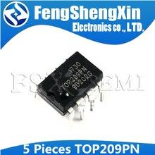 5pcs TOP209P DIP-8 TOP209PN DIP TOP209 DIP8  Three-terminal Off-line PWM Switch IC