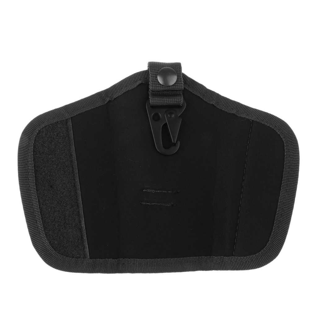 Oxford Stille Sleutelhouder Pouch Nylon W/Flappen En Duty Belt Loop