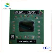 Amd cpu portátil turion TL-60 tmdtl60hakoldm cpu 1m cache/2.0ghz/soquete s1/processador portátil duplo-core tl60 tl 60