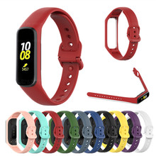 רך סיליקון ספורט להקת רצועות עבור Samsung Galaxy Fit 2 רצועת SM R220 צמיד החלפת רצועת השעון לסמסונג גלקסי Fit2