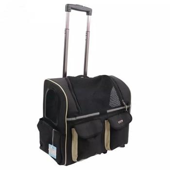 Dog Out  Trolley Case Pet Portable Shipping Box Large  door Travel Bag Cat Backpack Go  Light  Strollerdog car pet bagdog bags