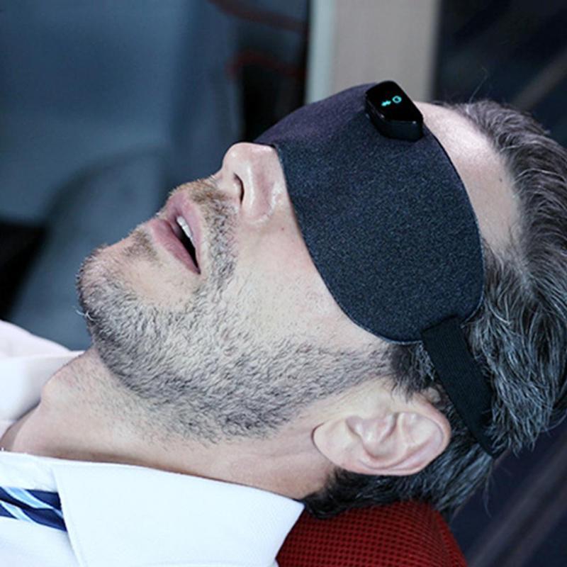 Anti-ronflement masque pour les yeux bandeau pour les yeux adulte voyage à domicile oculaire sommeil soins de santé intelligent Anti-ronflement masque pour les yeux Relax bandeau oculaire