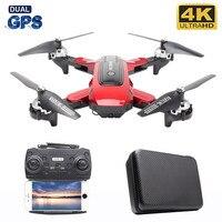 Dron RC 5G con WIFI, transmisión de imagen, posicionamiento GPS, cámara 4K HD, helicóptero Aéreo profesional, Quadcopter, 2020