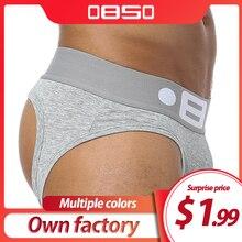 Brand Fashion hot elastische populaire merk BS Ondergoed ademend katoen sexy gay spandex cueca hombr mannen ondergoed B0103