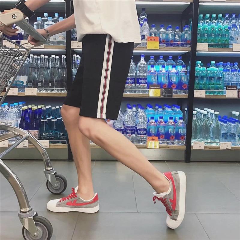 Summer MEN'S Casual Shorts BOY'S Summer Shorts Loose-Fit Sports Pants Korean-style Trend Beach Shorts