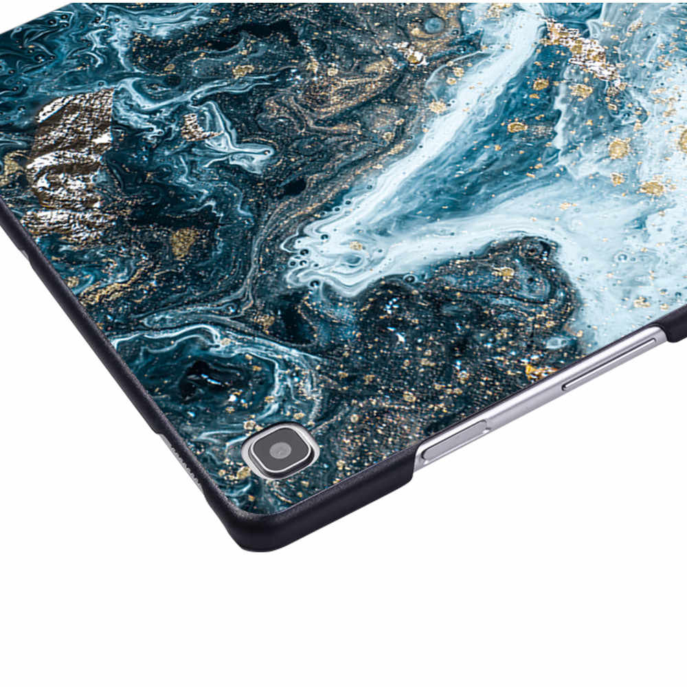 Jatuh Tablet Case Cocok untuk Samsung Galaxy Tab A 10.1 2019 T510 T515 Tablet Stand Cover Case aksesoris Tablet