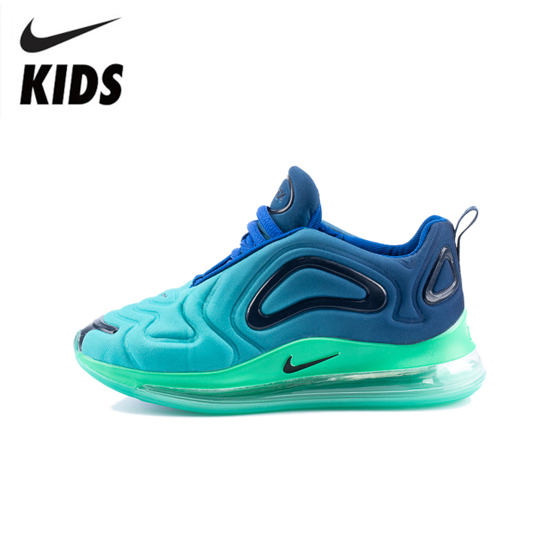 Nike Air Max 720 Kids Shoes Original New Arrival Children Running Shoes Air Cushion Comfortable Sports Sneakers #AO9294-400