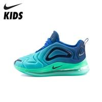 Nike Air Max 720 Kinder Schuhe Original Neue Ankunft Kinder Laufschuhe Air Kissen Bequeme Sport Turnschuhe # AO9294 400-in Turnschuhe aus Mutter und Kind bei