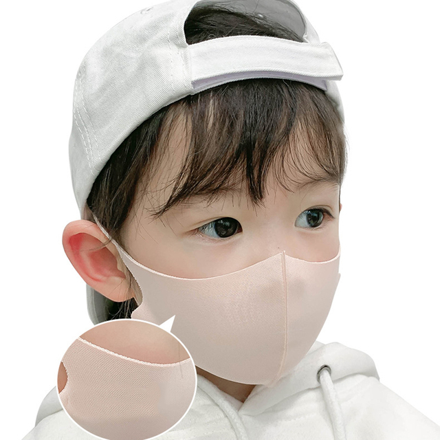 For 4-12 Years Old Kids Mouth Mask Cartoon Printed Dust Children Face Masks Washable Reusable Student Kids Mouth Child Face Mask 5