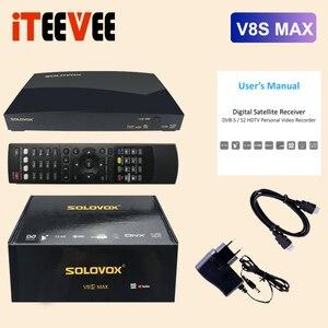 Image 1 - SOLOVOX 2020 V8S MAX FHD ALI3521 Truyền Hình Vệ Tinh Thu Hỗ Trợ USB WiFi YOUTUBE Xtream H265 STB Bộ Giải Mã V8SMax Thay Thế V8S plus