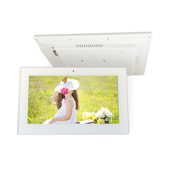 21.5 inch Capacitive touch screen embedded in wall android tablet with USB RJ45