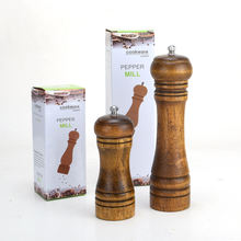 Мельница для соли и перца винтажная мельница из твердой древесины