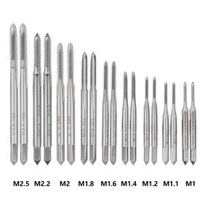Image 3 - Xcan 31Pcs M1 M2.5 Metrische Tap En Sterven Set Mini Nc Schroefdraad Pluggen Kranen Hss Staal Hand Screw Tap die Wrench