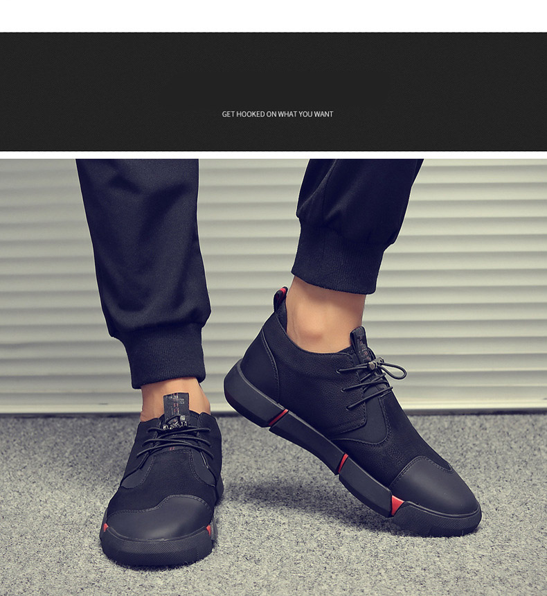 H3c3233839d6c4f05bb942338c9255a35F Shoes Men Black Autumn Winter Plush Keep Warm Men Casual Shoes Leather Breathable Fashion Men Shoes High Quality
