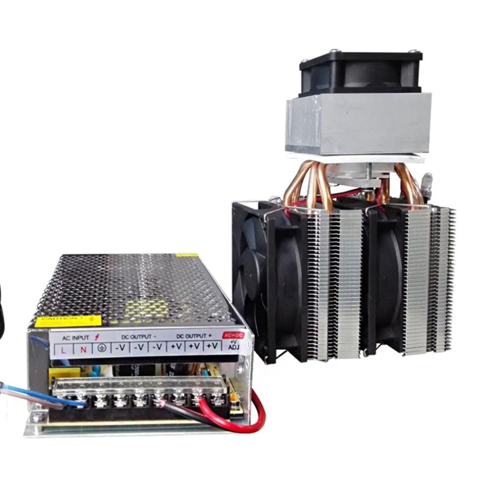 تيار مستمر 12 فولت بلتيير التبريد تبريد الهواء المبرد لتقوم بها بنفسك نظام 20A 180 واط أشباه الموصلات ثلاجة مكيف الهواء
