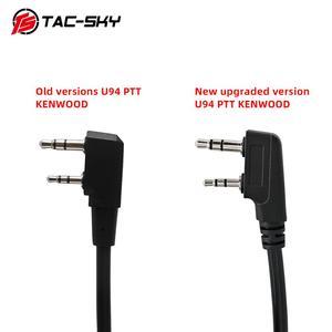 Image 2 - Новинка, улучшенный Тактический адаптер Kenwood plug PTT U94