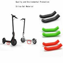 For Xiaomi Skateboard  Scooter Silicone Protective Brake Cover Foot Support Accessories Handle Protection Shell