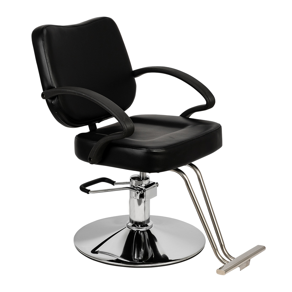 Black Color Barber Chair Hairdressing Chair Hair Salon Chair Beauty Shampoo Spa Equipment For Woman Ship Fast