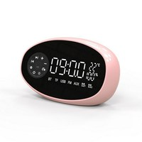 Wireless Electronic Clocks LED New Temperature Radio Electronic Alarm Clock Multi function Table Digital Clock Home Accessories