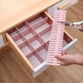 Регулируемый пластиковый разделитель для ящиков, полки для хранения «сделай сам», разделительная доска для дома, разделительные инструмен...